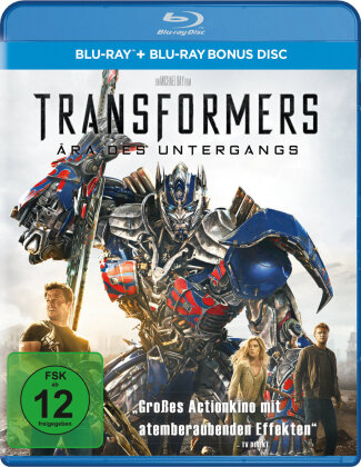 Transformers 4 - Ära des Untergangs (2014) (2 Blu-rays)