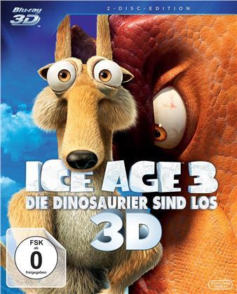 Ice Age 3 - Die Dinosaurier sind los (2009) (Blu-ray 3D (+2D) + DVD)