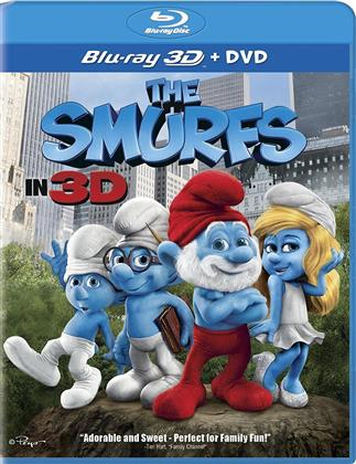 The Smurfs (2011) (Blu-ray 3D + DVD)