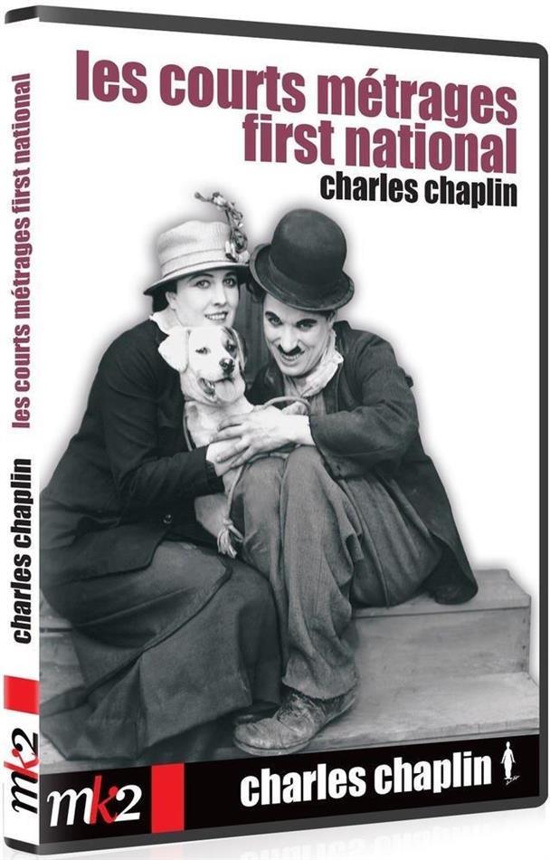 Charles Chaplin - Les courts métrages first national Charles Chaplin (MK2, n/b, 2 DVD)