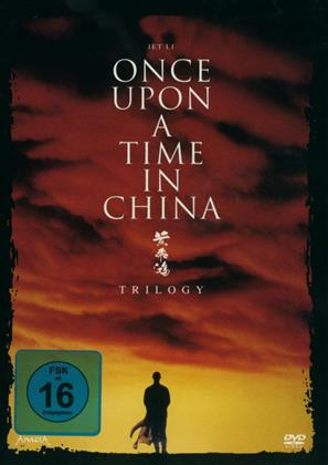 Jet Li: Once upon a time in China 1-3 - Trilogy (3 DVDs)