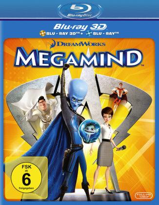 Megamind (2010) (Blu-ray 3D + Blu-ray)