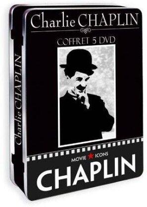 Charlie Chaplin - (Coffret Métal 5 DVD) (n/b)