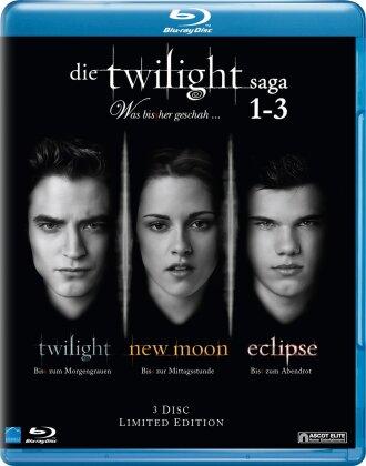 Die Twilight Saga 1-3 - Was bisher geschah (Limited Edition, 3 Blu-rays)