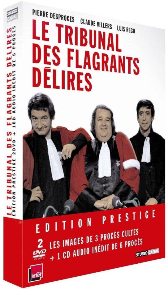 Le Tribunal des flagrants délires (1981) (Deluxe Edition, 2 DVDs + CD)