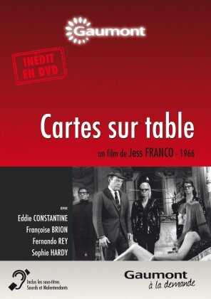 Cartes sur table (1966) (Collection Gaumont à la demande, s/w)
