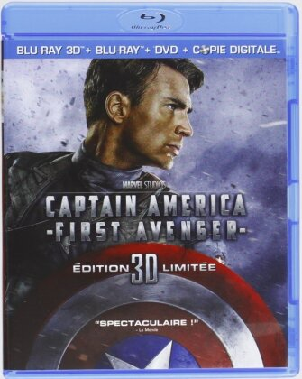 Captain America - First Avenger (2011) (Blu-ray 3D (+2D) + DVD)