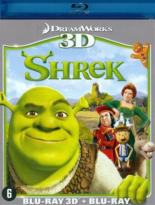 Shrek (2001) (Blu-ray 3D + Blu-ray)
