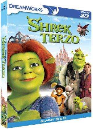 Shrek Terzo (2007) (Blu-ray 3D (+2D) + DVD)