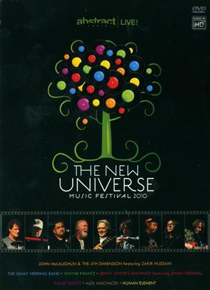Various Artists - The new universe music festival 2010 (2 DVDs)