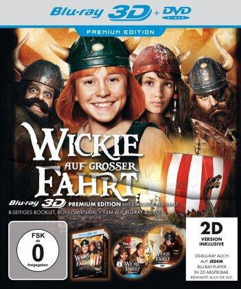 Wickie auf grosser Fahrt (2011) (Premium Edition, Blu-ray 3D + Blu-ray + DVD)