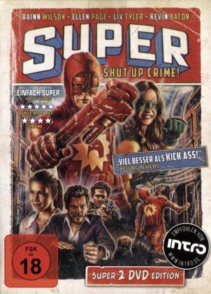 Super (2010) (Mediabook, 2 DVDs)