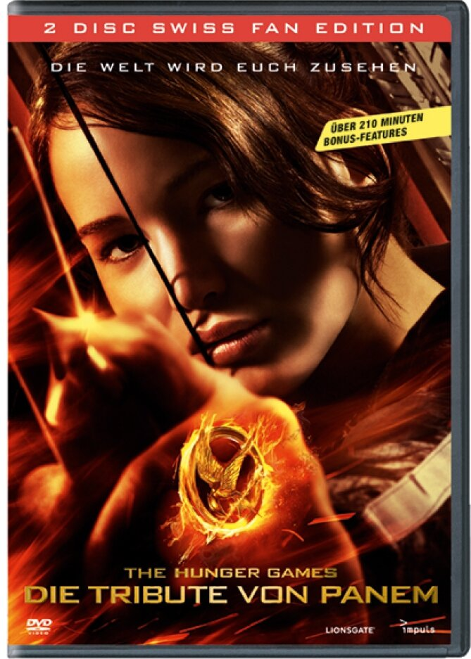 Die Tribute von Panem (2012) (Special Swiss Fan Edition, 2 DVD)
