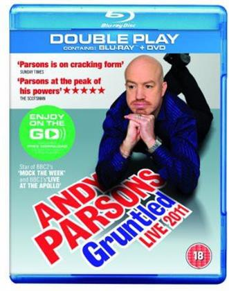 Parsons,Andy - Gruntled Live 2011 (Blu-ray + DVD)