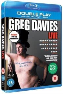 Greg Davies - Live Firing Cheesballs At a Dog (Blu-ray + DVD)