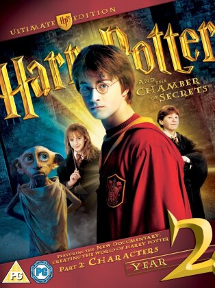 Harry Potter and the Chamber of Secrets (2002) (Ultimate Edition, Blu-ray + DVD)