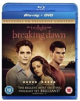 Twilight 4 - Breaking Dawn - Part 1 (2011) (Blu-ray + DVD)