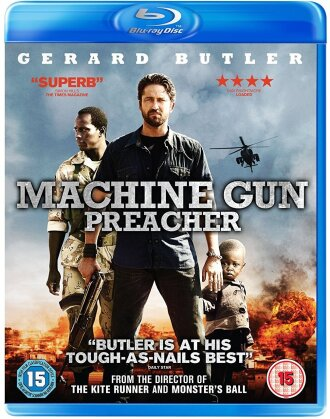 Machine Gun Preacher (2011) (Blu-ray + DVD)