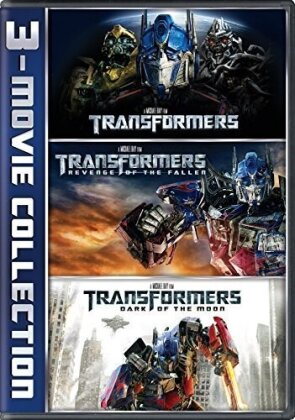 Transformers / Transformers: Revenge of the Fallen / Transformers: Dark of the Moon - 3-Movie Collection (3 DVDs)