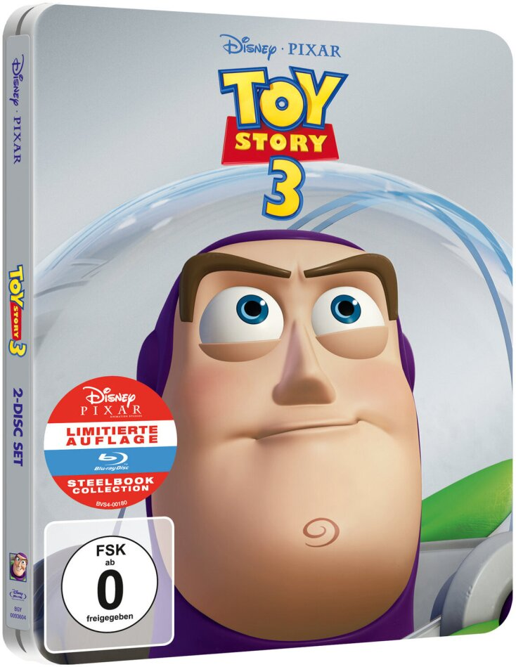 Toy Story 3 (2010) (Limited Edition, Steelbook)