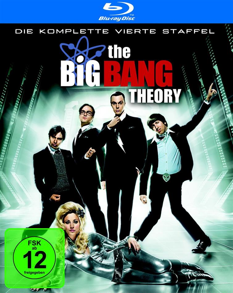 The Big Bang Theory - Staffel 4 (2 Blu-rays)