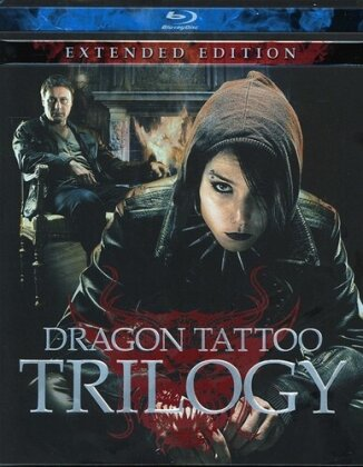 Dragon Tattoo Trilogy (Extended Edition, 4 Blu-ray)