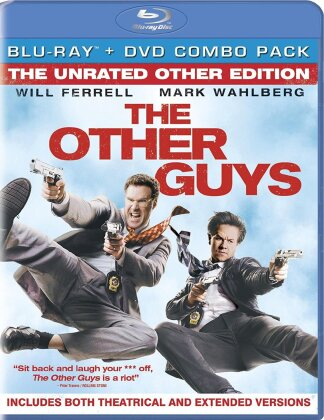 The Other Guys (2010) (The Unrated Other Edition, Blu-ray + DVD)