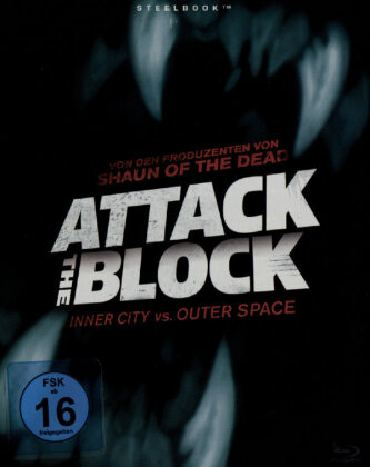 Attack the Block (2011) (Limited Edition, Steelbook)