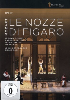 Orchestra of the Teatro Real Madrid, Lopez Cobos, … - Mozart - Le nozze di Figaro (2 DVDs)