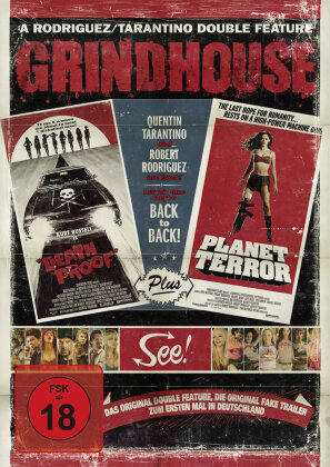 Grindhouse (2007) - (US-Cut) - Death Proof & Planet Terror (2007) (Single Edition)