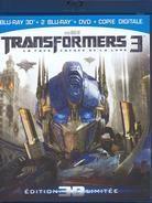 Transformers 3 (2011) (Blu-ray 3D (+2D) + Blu-ray + DVD)