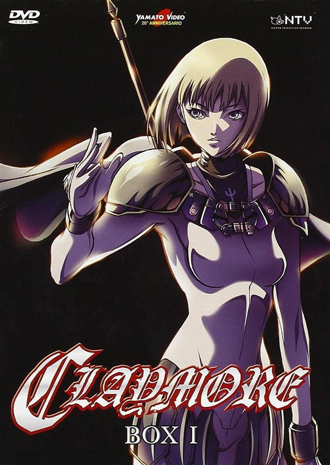Claymore - Stagione 1 - Box 1/3 (2 DVDs)