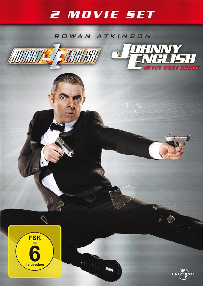 Johnny English / Johnny English - Jetzt erst recht (2 DVDs)