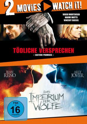 Tödliche Versprechen (2007) / Das Imperium der Wölfe (2005) (2 DVDs)