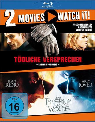 Tödliche Versprechen / Das Imperium der Wölfe (2 Blu-rays)