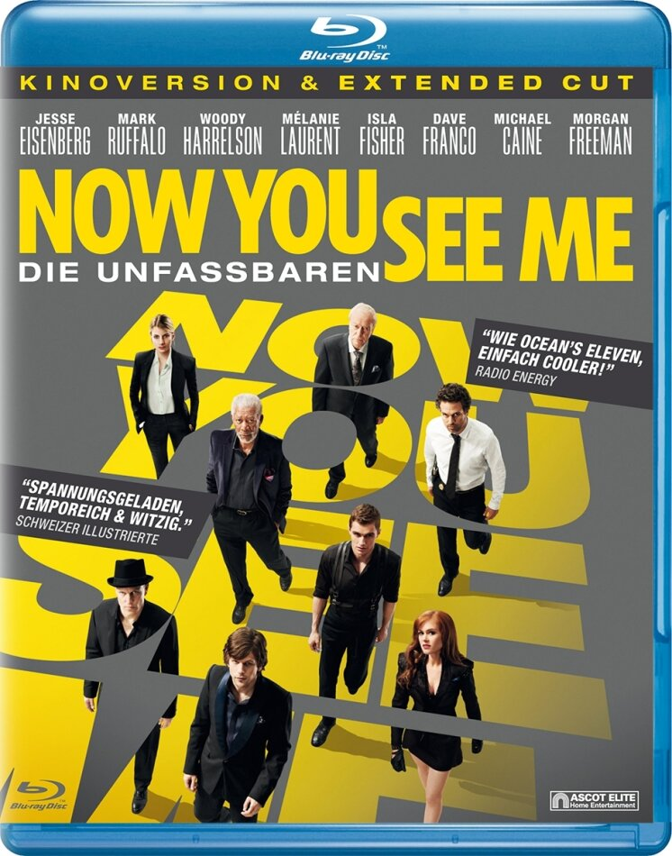 Now You See Me - Die Unfassbaren (2013) (Extended Edition, Kinoversion)