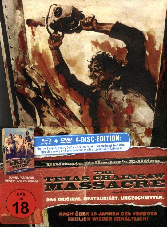 The Texas chainsaw massacre (1974) (Ultimate Collector's Edition, Mediabook, Blu-ray + 3 DVDs)
