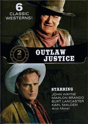 Outlaw Justice Collection - 6 Classic Westerns! (Collector's Edition, 2 DVDs)