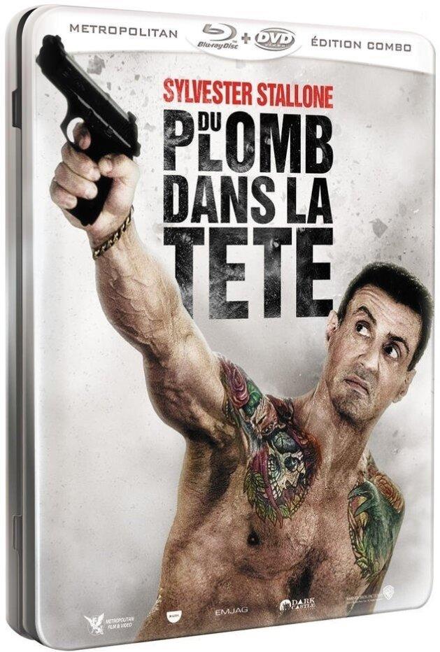 Du plomb dans la tête (2012) (Steelbook, Blu-ray + DVD)