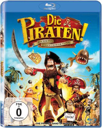 Die Piraten - Ein Haufen merkwürdiger Typen (2012)