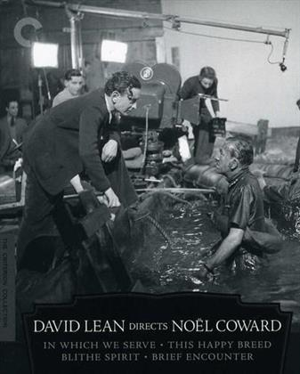 David Lean Directs Noel Coward (Criterion Collection, Blu-ray + 4 DVDs)