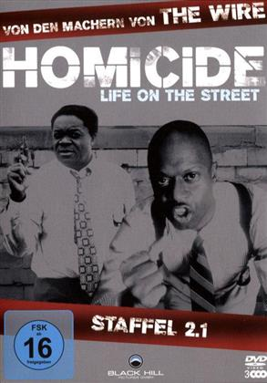Homicide - Life on the Street - Staffel 2.1 (3 DVDs)