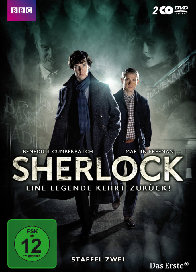 Sherlock - Staffel 2 (BBC, 2 DVD)
