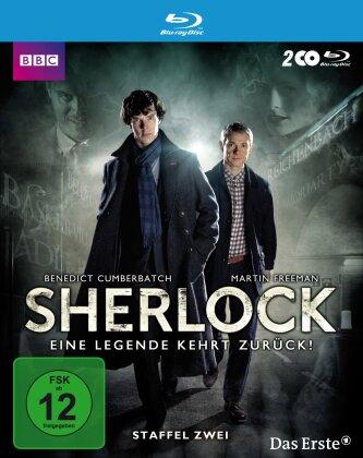 Sherlock - Staffel 2 (BBC, 2 Blu-ray)