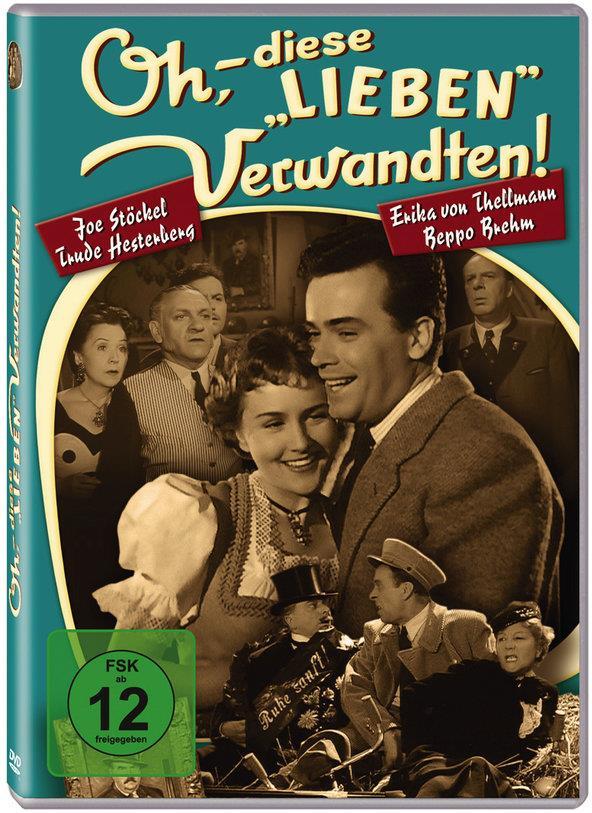 """Oh, - diese """"lieben"""" Verwandten! (1955) (s/w)"""