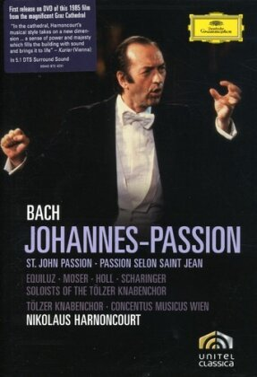 Concentus Musicus Wien, Tölzer Knabenchor, Nikolaus Harnoncourt, … - Bach - Johannes-Passion (Deutsche Grammophon, Unitel Classica)