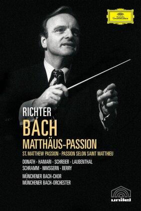 Münchener Bach-Chor, Münchener Bach-Orchester, … - Bach - Matthäus Passion (Deutsche Grammophon, Unitel Classica, 2 DVDs)
