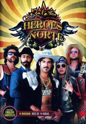 Los Heroes Del Norte (4 DVDs)
