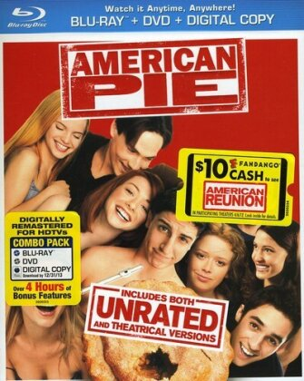 American Pie (1999) (Unrated, Blu-ray + DVD)