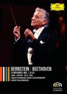 Wiener Philharmoniker & Leonard Bernstein (1918-1990) - Beethoven Cycle Part 1-5 (7 DVDs)